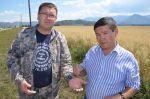 Александр Манзыров посетил Усть-Коксинский район